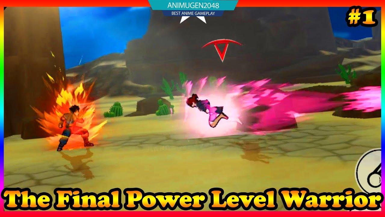 The Final Power Level Warrior APK#1 💛 Super Saiyan Battle 💛 Best Gaming  Android #FHD