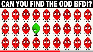 Can You Find The Odd BFDI One Out | Battle For Dream Island Fun Quiz | Spot The Odd BFDI