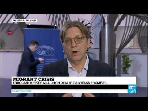 Guy Verhofstadt (President, ALDE Group) on Europe, migrants and the Turkey deal