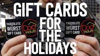 Gift Cards for the Holidays! | Dog Haus