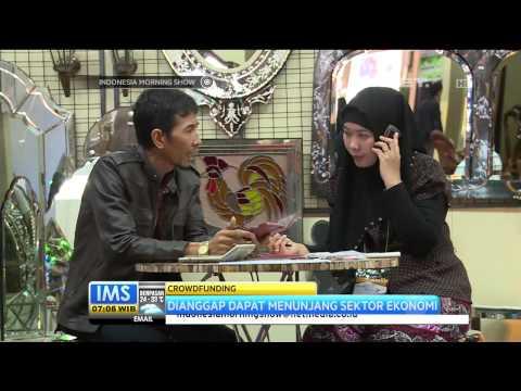Crowdfunding Sudah Mulai Dimanfaatkan UKM di Indonesia -IMS