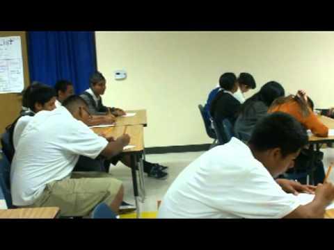 Urban Possibilities visits Vista Charter Middle School