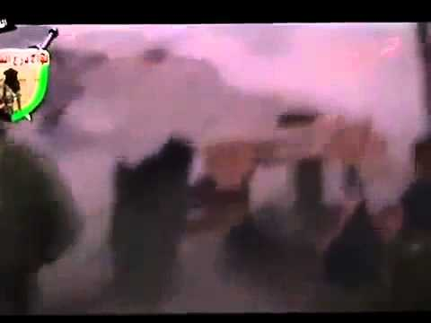 18+ Syria - Aleppo Clashes Rage at Ramouseh Artillery School between Regime and Rebels 10-17-12