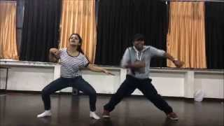 Tu meri..!Bang bang..! Dance cover ! by kunal & tanvi sharma! Dance floor studio !