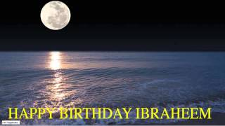 Ibraheem  Moon La Luna - Happy Birthday