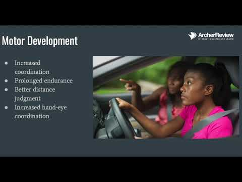 Growth and Development Part IV School Age and Adolescents All you need for NCLEX Archer Review