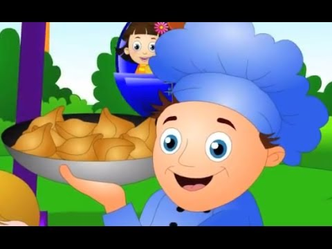 Simple Simon Met a Pieman Nursery Rhymes | Kids Animation Rhymes Songs