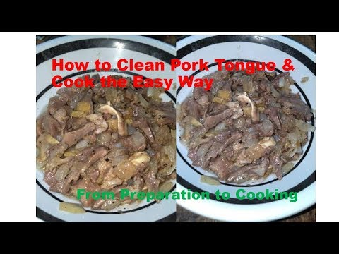 How To Clean Pork Tongue & Cook the Easy Way