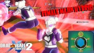 Dragon Ball Xenoverse 2 OP Female Majin Hybrid Build (Must Watch)
