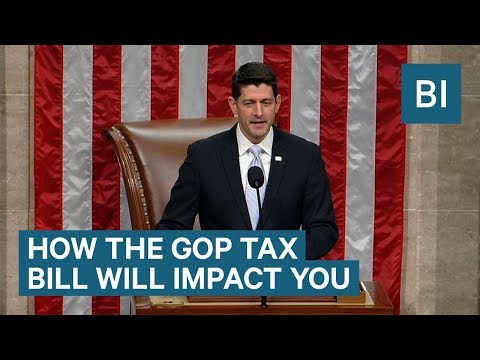 How The New GOP Tax Bill Impacts You If You Make $20,000 To $269,000 A Year
