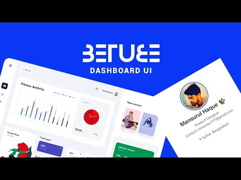 Behance Project Review   Interaction Design   Dashboard UI