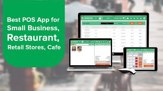 Best pos app for small business, restaurant, retail stores, cafe