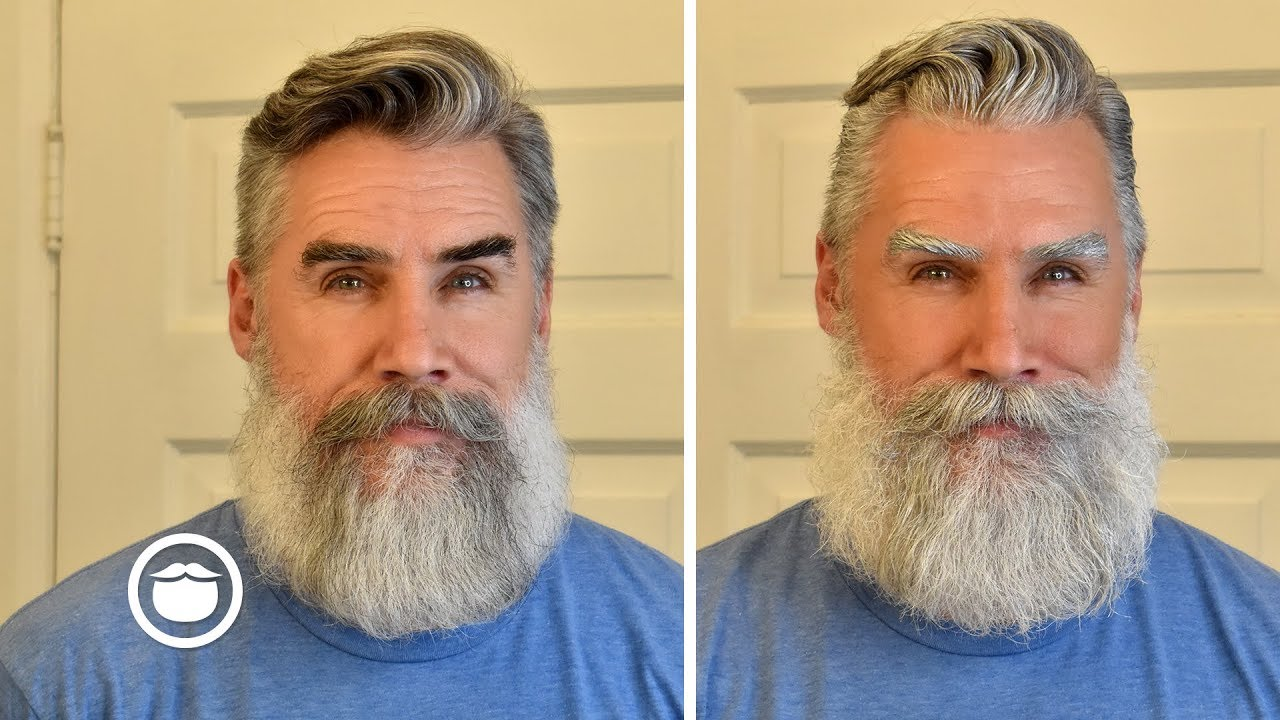 Dyeing My Hair & Beard White | Greg Berzinsky - YouTube