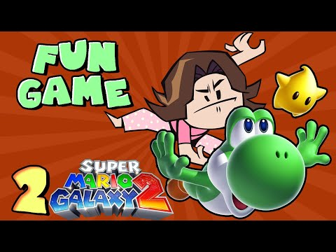 Pondering YOSHI'S REPRODUCTIVE SYSTEM - Super Mario Galaxy 2: PART 2