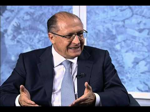Kennedy Alencar entrevista o governador Geraldo Alckmin - Parte 1