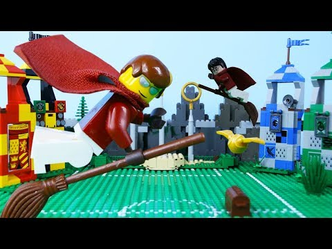 LEGO Harry Potter STOP MOTION LEGO Harry Potter: Quidditch School Fail   LEGO   By Billy Bricks