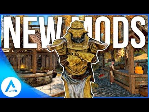 Skyrim Special Edition - Top 10 Brand New Mods (PS4/XB1/PC)
