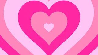 Фон сердечки 💖 - Радужное розовое сердечко. Y2K PARTY  Футаж для видео монтажа.