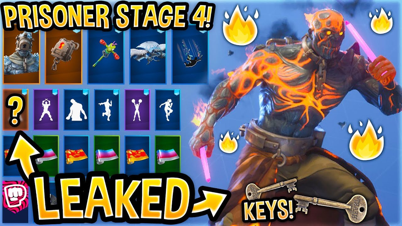 New Fire King Stage 4 Skin Showcase With All Leaked Emotes