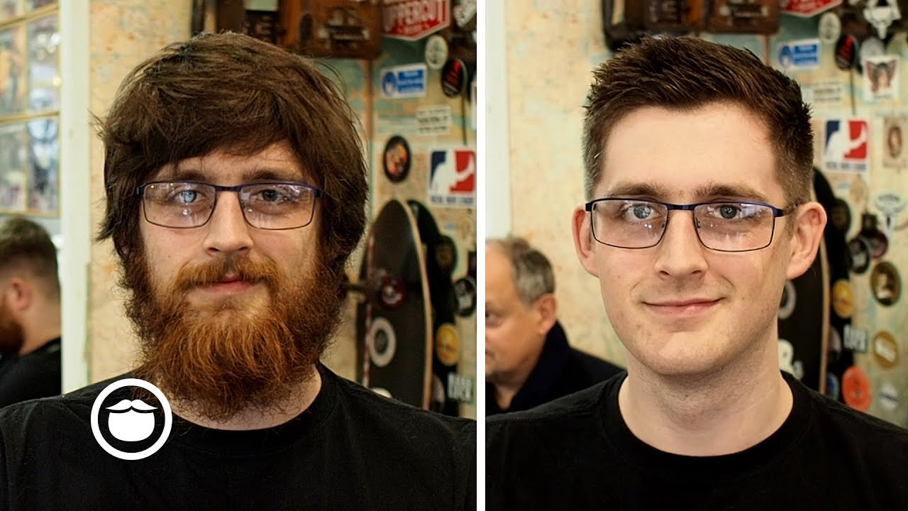 Epic Haircut And Beard Transformation Youtube