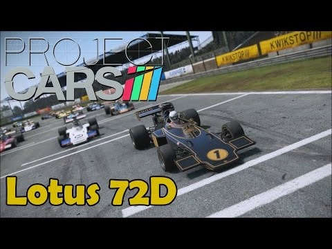Project CARS Classic Team Lotus DLC - Lotus 72D Classic Silverstone
