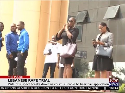 Lebanese Rape Trial - The Pulse on JoyNews (8-1-18)