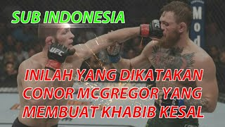 Khabib vs conor mcgregor full fight sub indonesia