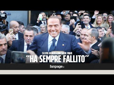 """Berlusconi a Milano: """"Di Maio ha fatto un solo mestiere, lo steward allo stadio"""""""