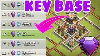 Th11 Trophy/Legend Base 2018 w/PROOF | BEST TH11 STRONG DEFENSIVE LEGEND BASE 2018 | Anti 2 Star