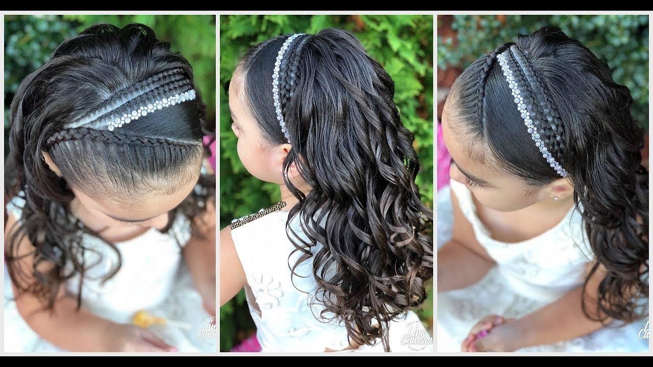 Peinado Elegante Para Ocasión Especialpeinados Para Niñaslph