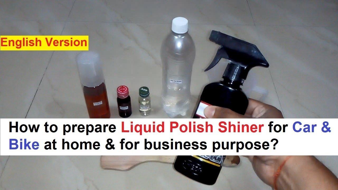 Liquid Polish Shiner for Car & Bike - 100% Real Formula