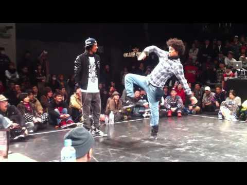 Битва Титанов - LES TWINS Final 2011.1.11 tokyo hip hop