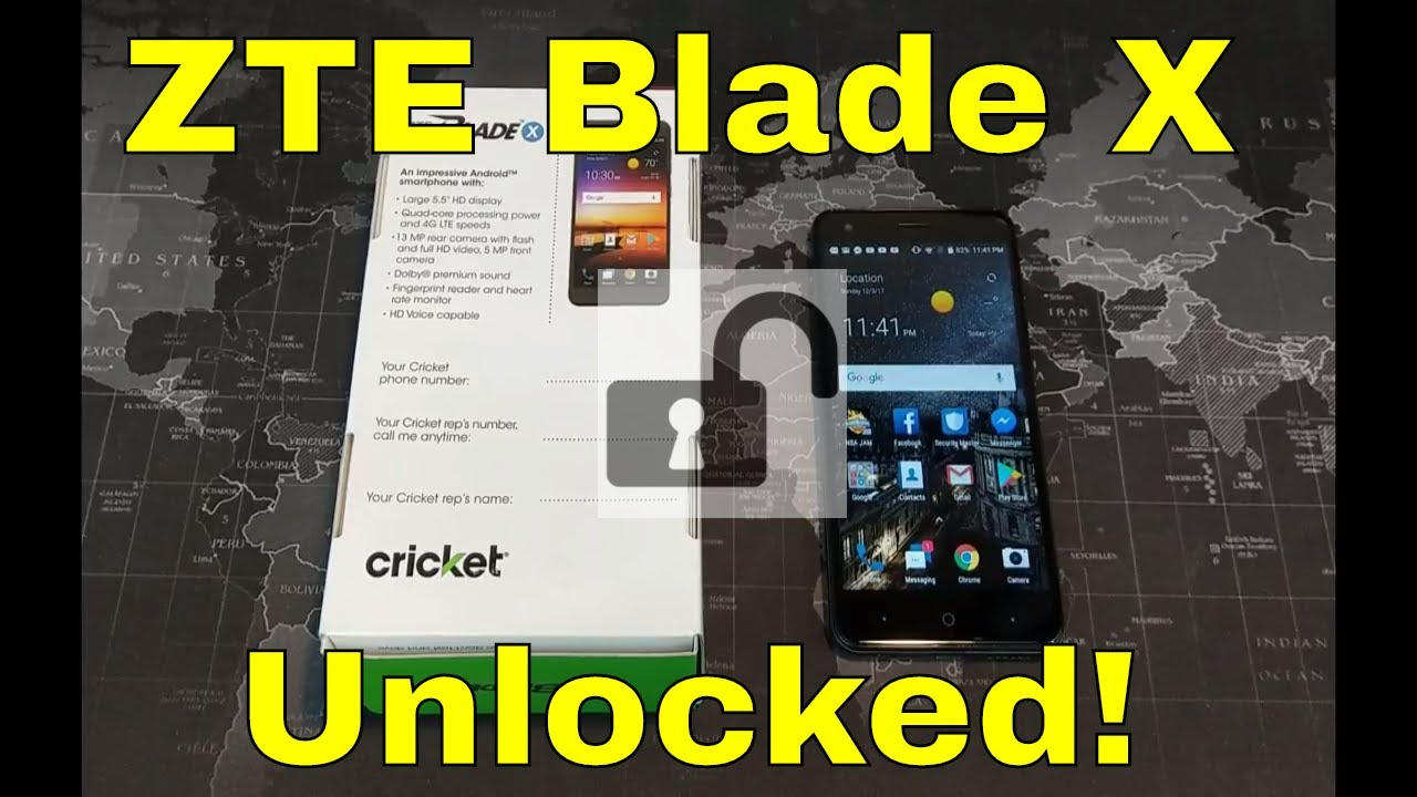 How to unlock ZTE Blade X for any GSM Network Worldwide!