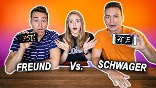 FREUND vs SCHWAGER - Wer kennt mich besser ?!   Max und Chris