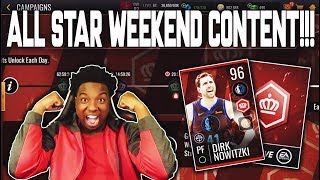 FREE 92+ OVR PLAYER FROM LIVE EVENTS!!! NEW ALL STAR WEEKEND CONTENT IN NBA LIVE MOBILE 19!!!