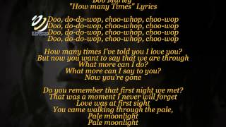 "Bob Marley ""How many times"" (Lyrics-Letras)(HQ Audio)"
