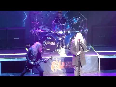 Saxon - Full Show, Live at The Anthem in Washington DC, 3/18/18 opening for Judas Priest