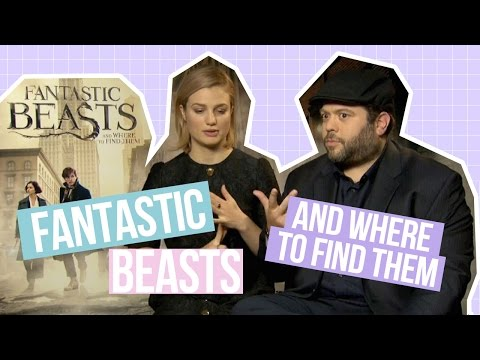 Dan Fogler and Alison Sudol talk Fantastic Beasts and their favourite moment from set