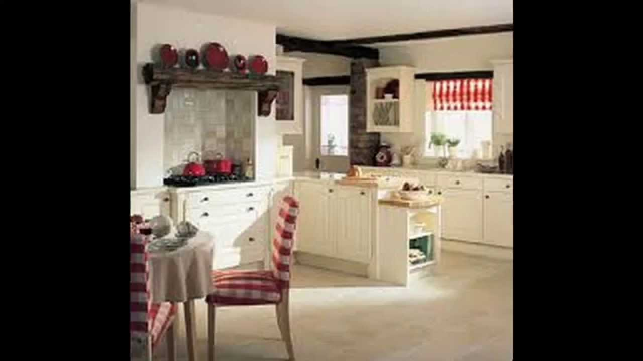 Chef kitchen decorating ideas youtube for Chef kitchen decor ideas