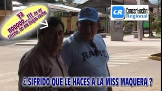 COMUNICADOR SOCIAL DIOMEDES MAQUERA CUTRADU SALE DEL CLOSE Y SE DESCHAVA