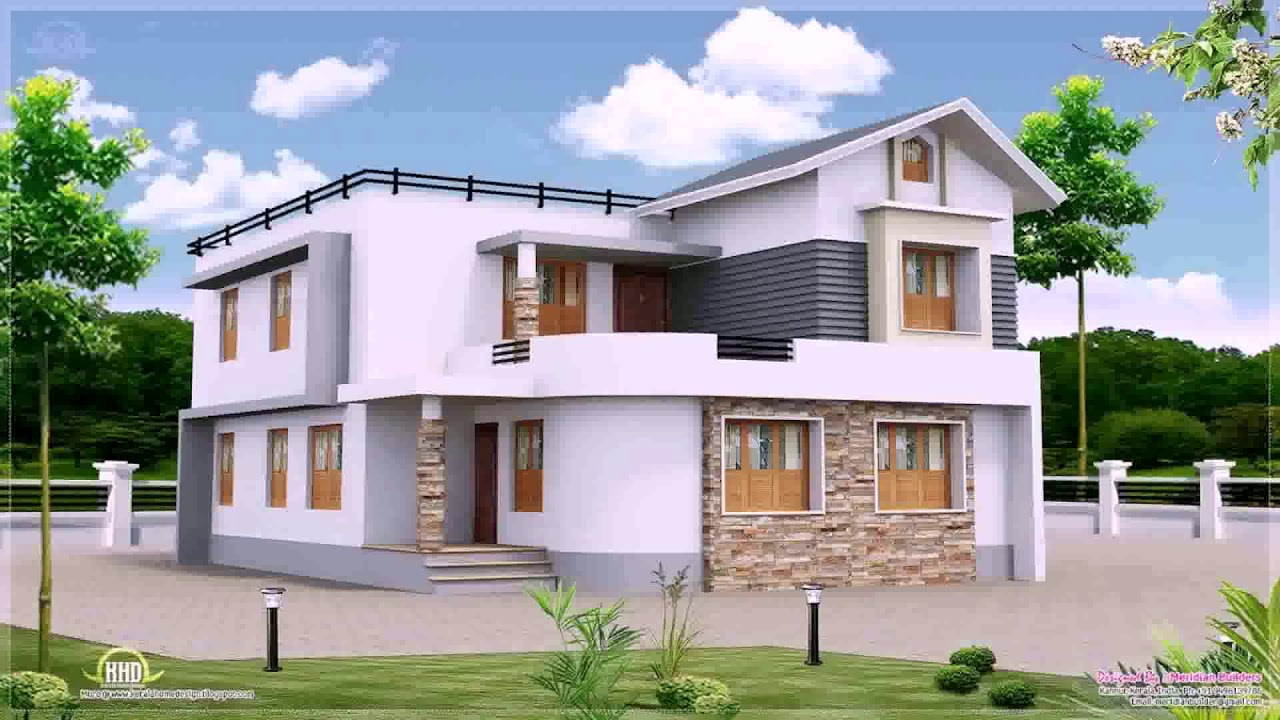 2 Storey House With Roof Deck Design Philippines Gif