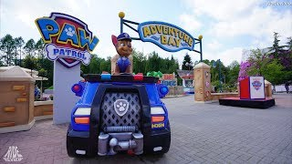 Die Paw Patrol im Movie Park Germany - Adventure Bay - Reportage