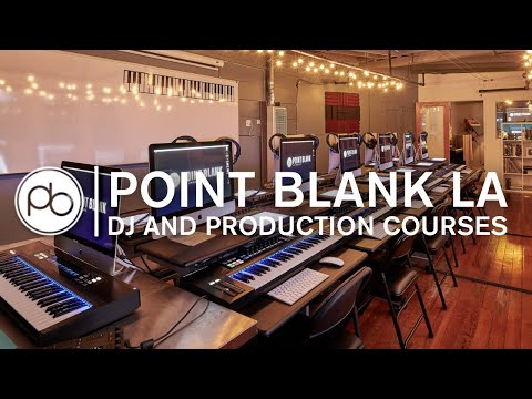 Music Production & DJ Courses at Point Blank Los Angeles