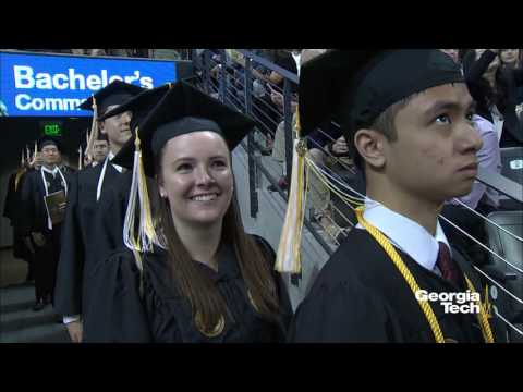 Georgia Tech Morning Bachelor's Commencement Spring 2016