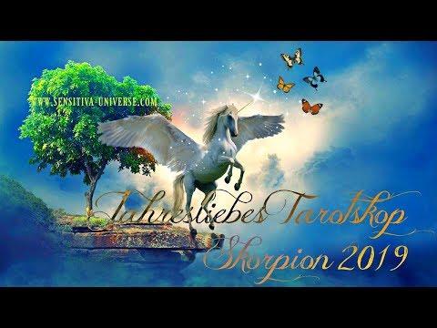 SENSITIVA UNIVERSE® JahresLiebesTarotskop 2019 | Sternzeichen: SKORPION - Deine Liebe In 2019 ♥