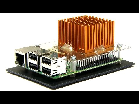 Raspberry Pi 3: Extreme Passive Cooling