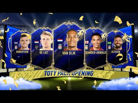 TEAM OF THE YEAR DEFENDERS 🤑 OPENING PROMO PACKS FOR ALL ...