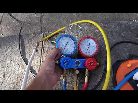 Butane (R600) refrigeration experiment