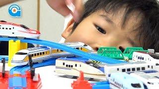 あつめてプラレールのE7系北陸新幹線かがやき【がっちゃん】 thumbnail
