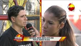 """Calle 7 Panamá """" novios Mario y Vanessa""""  6 ene 15"""